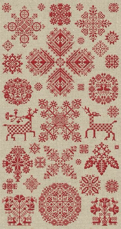 THROUGH THE BITTER FROST SNOW « Modern Folk Embroidery. This young man has quite…