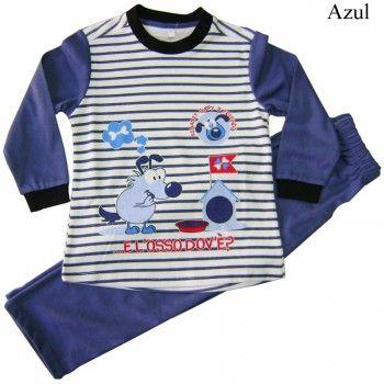 Pijama interlock  niño