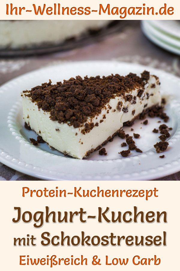 Protein Joghurt Kuchen Mit Schokostreusel Eiweissreiches Low Carb Rezept Kuchen Rezepte Eiweiss Kuchen Kuchen Rezepte Einfach
