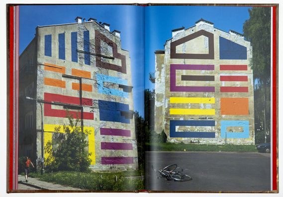 A new book, published by Stickit, celebrates the work of street artist Eltono, who has painted his unusual, geometric art on the walls of cities all over the world...