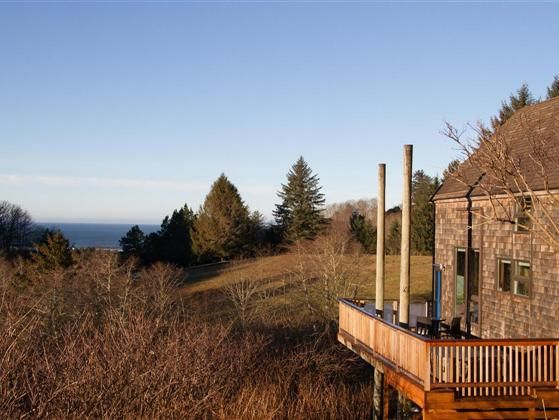 This property is a peaceful loft style cabin in Cascade Head Ranch.  The cabin was recently fully remodelled including the addition of a hot tub and extended deck new bathroom and new kitchen. Enjoy the relaxing ambiance while taking in the ocean view.  Just 10 minutes from Lincoln City the community of Cascade Head Ranch is surrounded by Nature Conservancy forest with fantastic opportunities for hiking and boating.  Property ownership includes the use of the clubhouse and swimming pool…