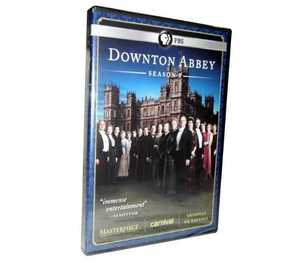 Downton Abbey Complete Third Season- 3DVD
