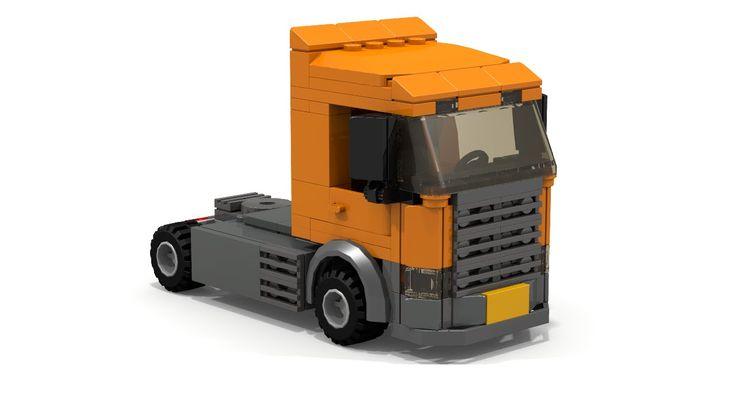 LEGO City Scania Truck Instructions