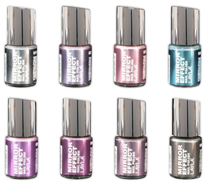 25+ Best Ideas About Mirror Effect Nail Polish On