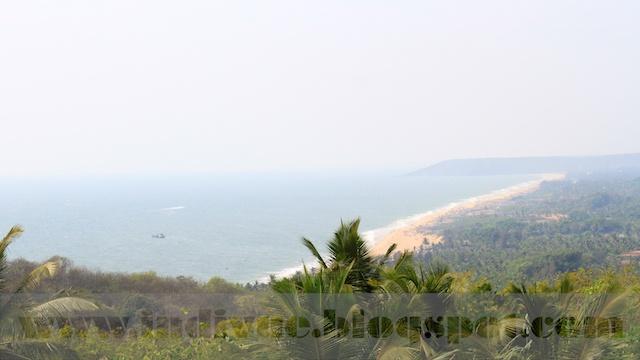 Beaches from Sinquerim to Baga in North-Goa, India