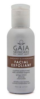 Facial exfoliant - Djuprengörande peeling som försiktigt polerar, slätar ut och förfinar hudens yta samt tar bort smuts och orenheter, vilket resulterar i en ren, klar hy.