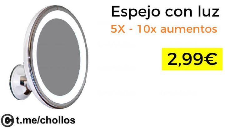 Espejos de aumento con luz LED desde 299 - http://ift.tt/2eNn5XU