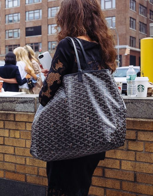 The Ultimate Bag Guide: The Goyard St. Louis Tote and Goyard Anjou Tote - PurseBlog