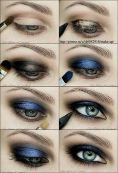 Look ahumado intenso de noche http://www.marykay.es/isabel/es-ES/tipsandtrends/makeuptips/eyes/paginas/the-updated-smoky-eye-look.aspx