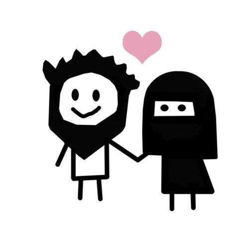 """""""Most couples express their love by saying """"I'll be with you until death do us part"""", but it's more beautiful for Muslim couples. For us, it's """"Not even death will part us because we'll be reunited in Jannah, insha Allah."""""""