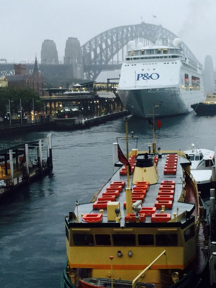Ship ahoy Sydney we're taking P&O to New York..see you very soon New York..time happy smiles #NYC