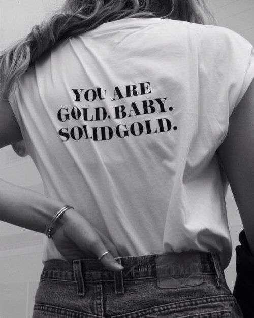Nur damit du es weißt, bist du wunderbar. Ich sch…