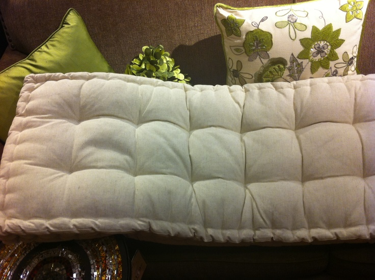 tufted bench cushion - Pier 1 | For the Home | Pinterest ...