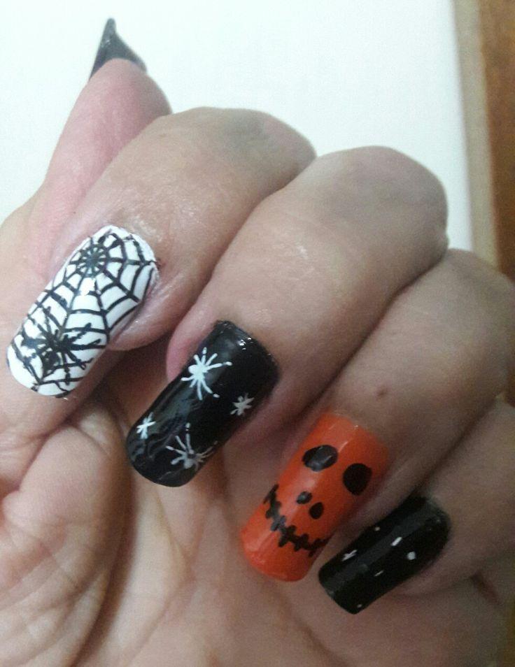 Nails..  Nails halloween...💅👻👻