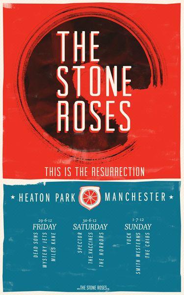 The Stone Roses, Heaton Park 2012