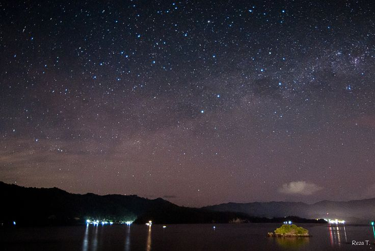 Star gazing at Dabirahe Resort, Lembeh #lembeh #stars #diving #dive #manado #indonesia #tropical #tropicalisland #beach #sea