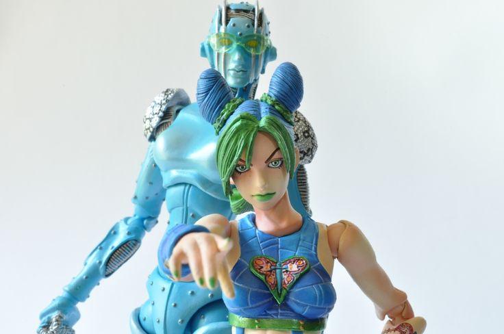 Super Action Statue Jolyne Kujo and Stone Free