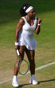 Serena Williams is popularly regarded as the greatest female tennis player of all time.