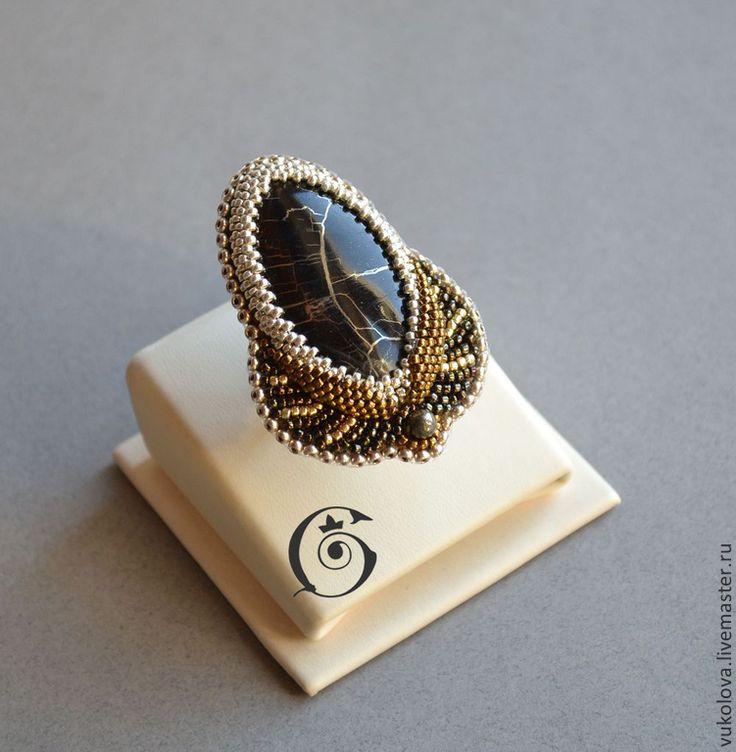 Magia Sacra - кольцо - золотой,серебряный,бронзовый,симбирцит,окаменелое дерево