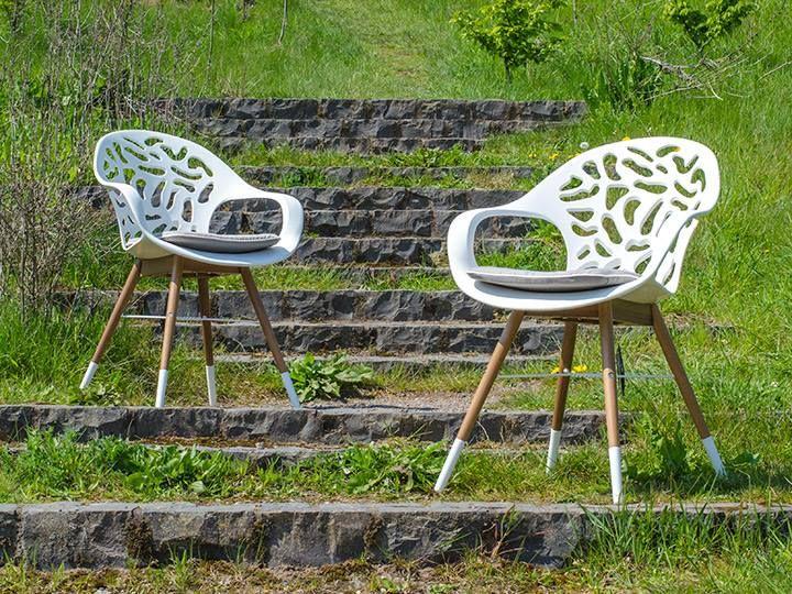 WHITE REEF Stuhl Für Garten Oder Esszimmer Weiß Hochwertige Stühle Qualität  Von Livingruhm Stuhl Ab Mitte April Lieferbar. Jetzt Bestellen Und  Preisvorteil ...