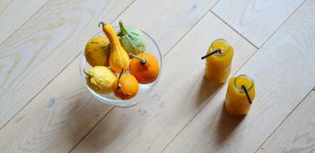 Soupe de pâtisson jaune