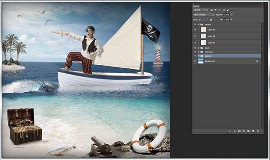 Na začiatku bol nápad vyrobiť netradičnú fotografiu a splniť tak detský sen. Ktorý chlapec by nechel byť napríklad pirátom. Kedže na slovensku nieje