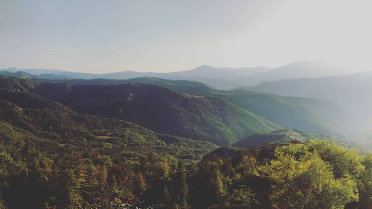 My mountains #appennino #piacenza #italy #light #sunny #toscoemiliano