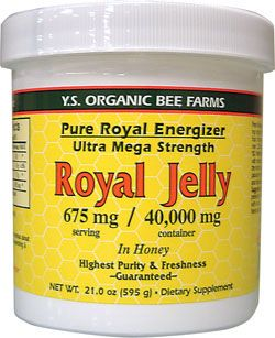 Royal jelly is believed to aid in fertility by improving the quality of a woman's eggs and promoting overall youthfulness of her reproductive organs and body. Many women find that royal jelly relieves many of the symptoms of PMS. Royal jelly contains an antibiotic called 10-Hydroxy-Dgr2-decenoic acid that is effective against many bacteria. Research has found that royal jelly has wound healing properties when applied topically to the skin, and it has many other uses as well.