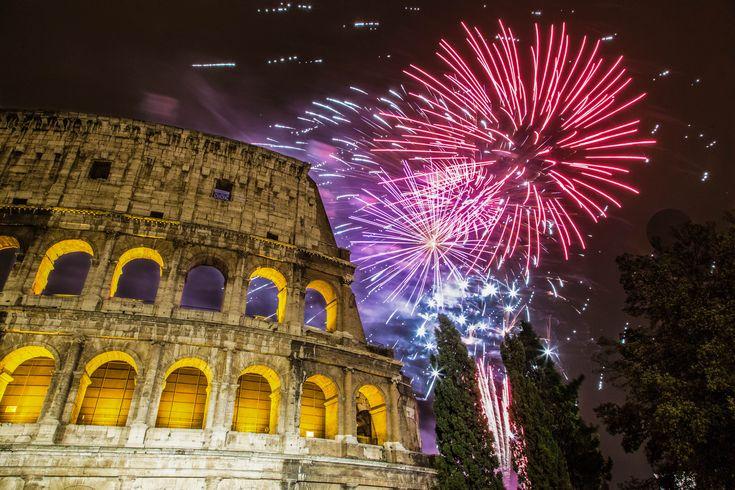 Ihr plant, Silvester in Rom zu verbringen? Dann habe ich tolle Tipps für das beste Restaurant und die beste Sicht aufs Feuerwerk!
