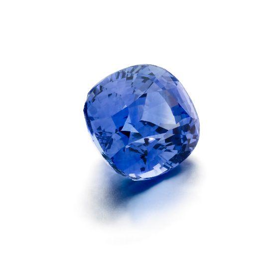 Beautiful blue Ceylon Sapphires at Larsen Jewellery.