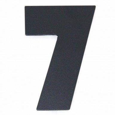 Hausschild Ziffer modern Bauhaus