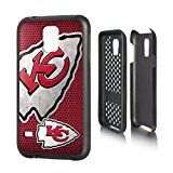 Kansas City Chiefs Rugged Case for Samsung Galaxy S 5 Cell Phones - Black/Red/White