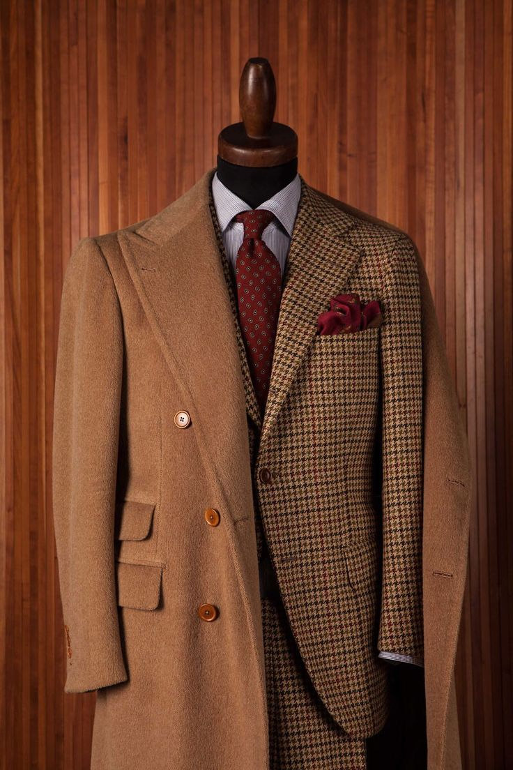 Do it in style with tweed #tweed