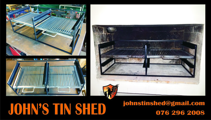 Braai grids with stand... Perfect for brick built braai's.