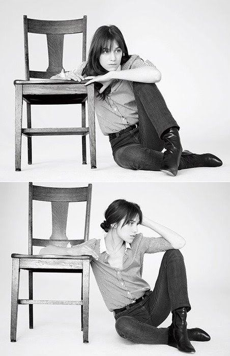 I have been obsessed with Charlotte Gainsbourg for a while...