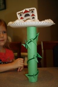 Jack and the Beanstalk Craft and Math Activities | Fantastic Fun & Learning