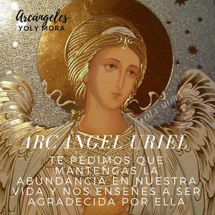#Viernes #ArcangelUriel Rayo Oro-rubí Abundancia. Protector del trabajo. Sanador de emociones exaltadas Arcángel proveedor. Regalos del cielo. Código Sagrado Numérico 4 . Te pedimos que mantengas la abundancia en nuestra vida y nos enseñes a ser agradecido por ella . . #Arcangel 2190 #Angeles #Bendiciones 71588 #Reiki #Mandalas #YolyMora 520