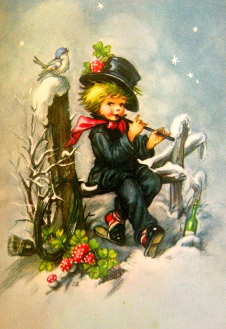 vintage christmas cards | Vintage Christmas Card | Christmas Postcard