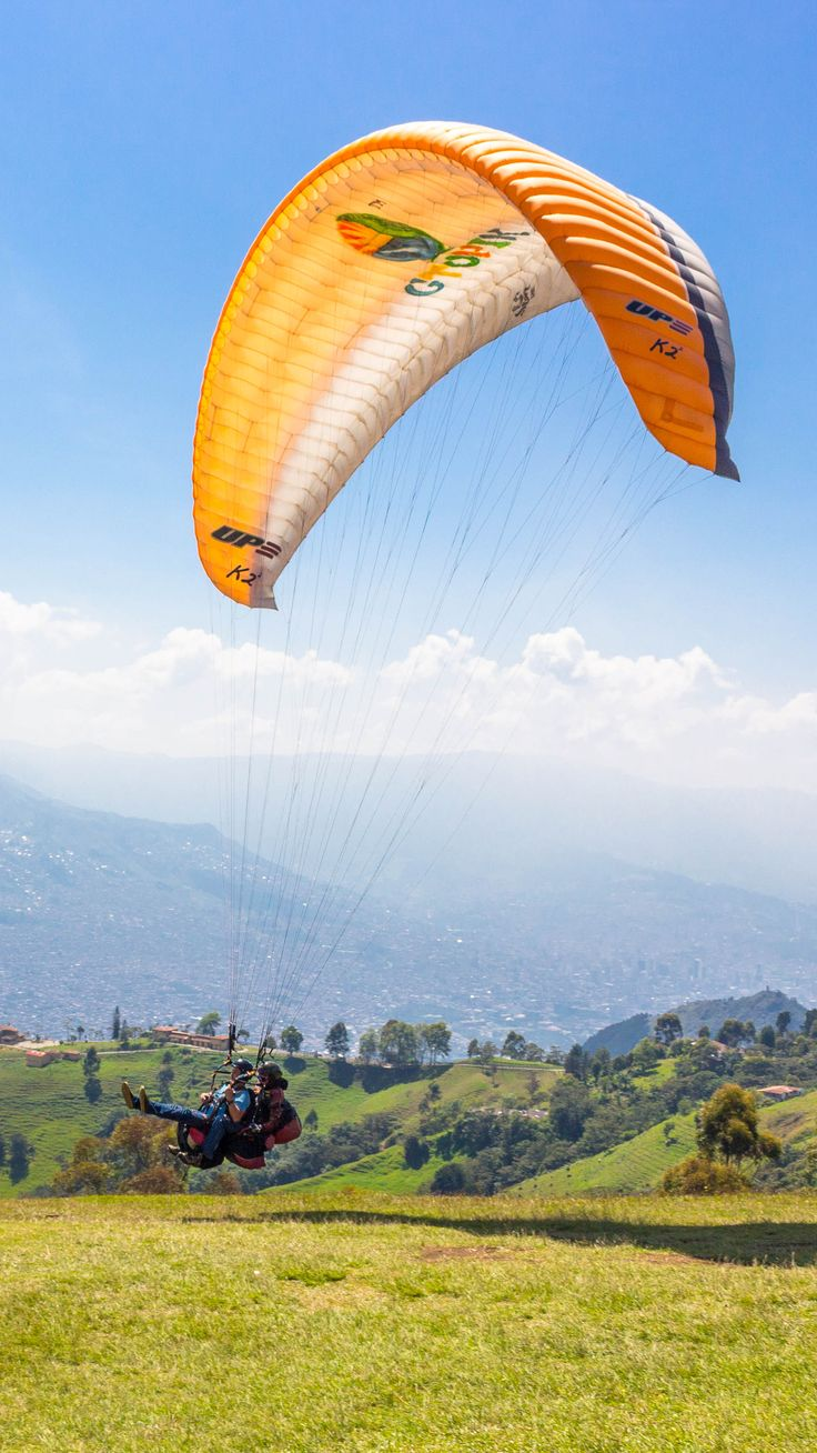 Paragliding and Rock Climbing in Medellin, Colombia