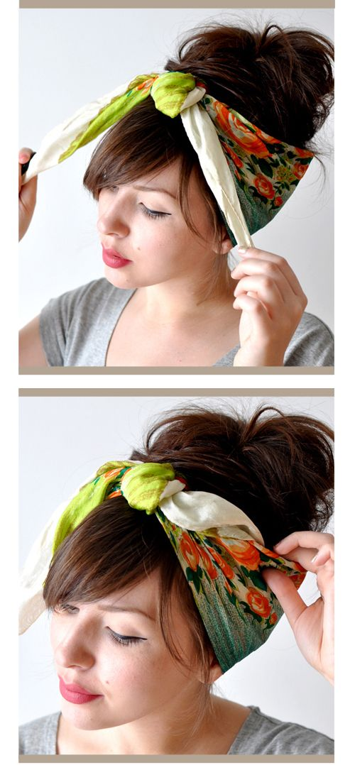 hair wrap how to