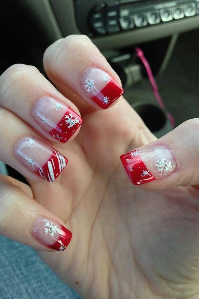 Christmasy but also change the red to blue and you have wintery...