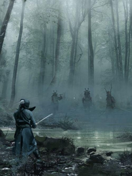 Algumas batalhas são iniciadas por um duelo, como uma cerimônia de combate. Este costume é seguido geralmente por clãs de guerreiros.
