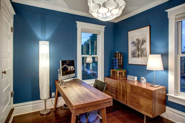 craftsman home office by Board and Vellum