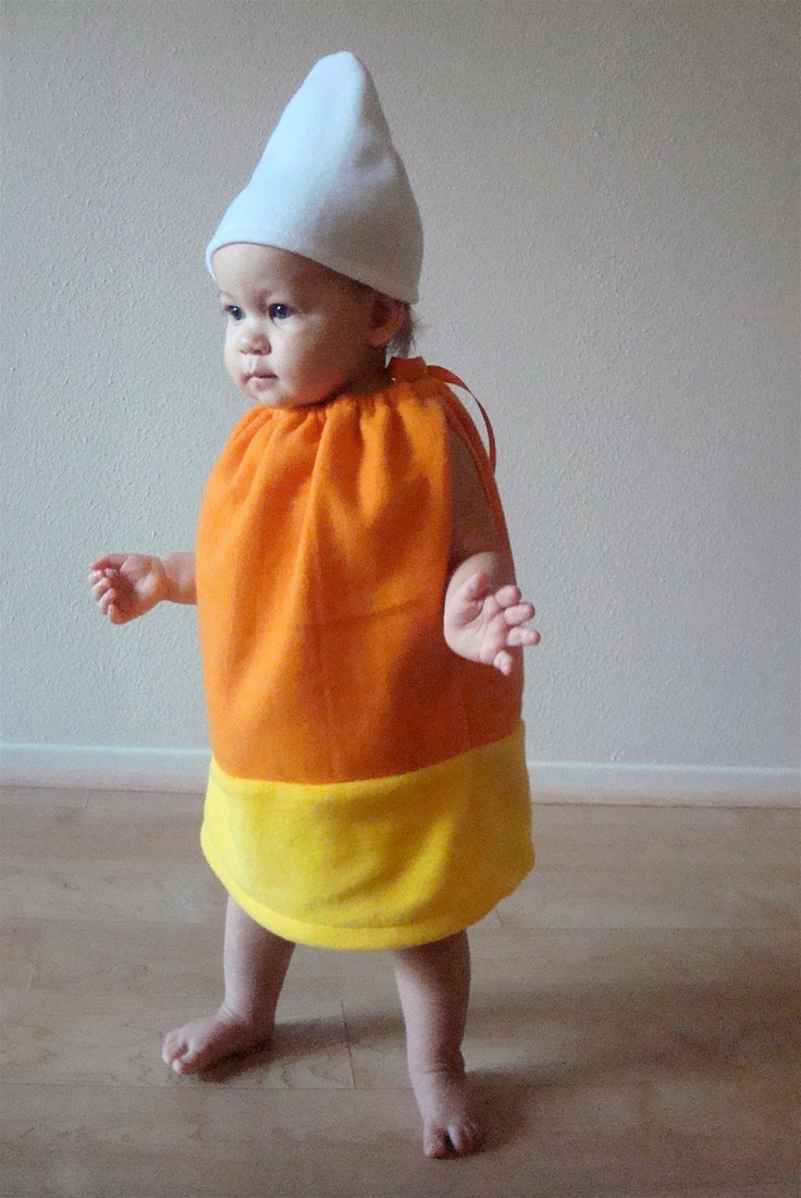 The 25 best homemade baby costumes ideas on pinterest halloween baby costume candy corn toddler costume halloween costume solutioingenieria Image collections