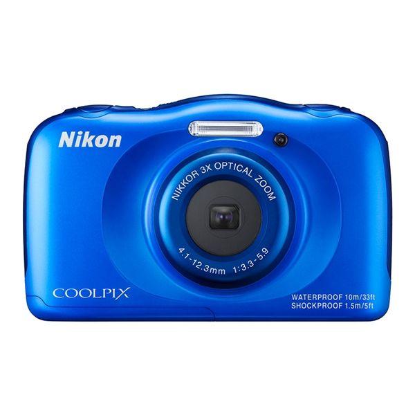 Nikon Coolpix S33 Blue- ElectroStudio