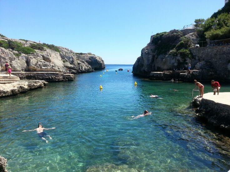 Cove at Cala n forcat Menorca