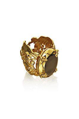 Anna dello Russo at H&M Statement Chunky Bracelet Armband Armreif Gold NEU NIB