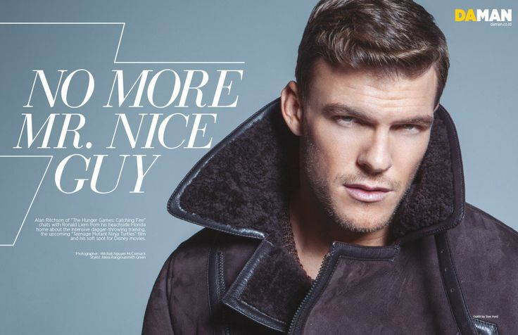 Exclusive Cover Story: Alan Ritchson | DA MAN Magazine