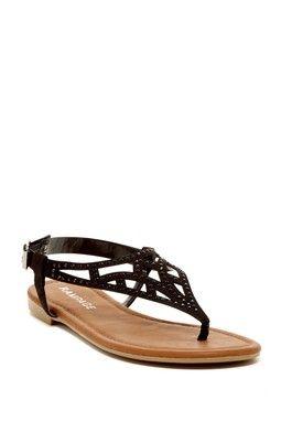 Rampage Pattie Studded Sandal