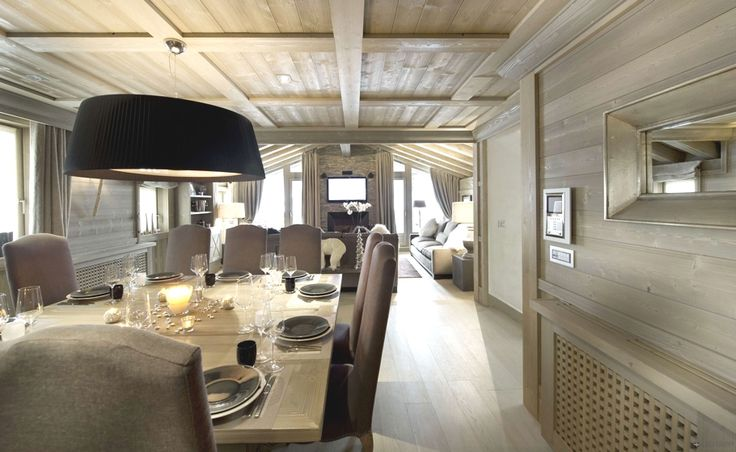Designer Chic, Chalet White Pearl, French Alps | Adelto